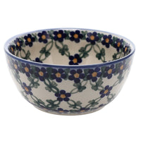 "5"" Bowl (Blue Lattice)"