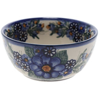"5"" Bowl (Blue Bouquet)"