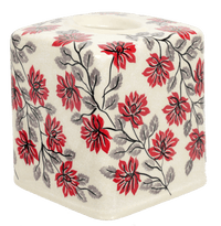 Tissue Box Cover (Evening Blossoms)