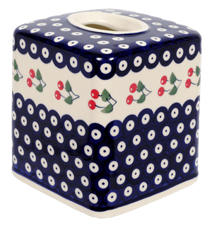 Tissue Box Cover (Cherry Dot)