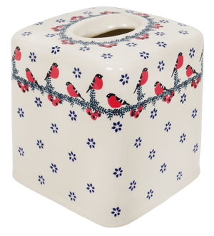 Tissue Box Cover (Red Bird)
