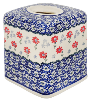 Tissue Box Cover (Summer Blossoms)