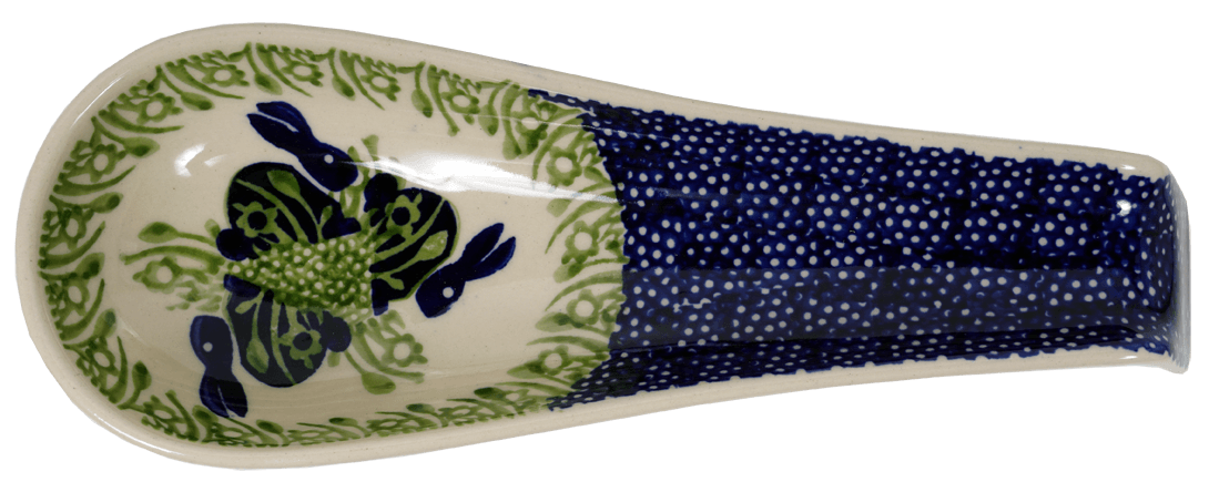 Spoon Rest W/Handle (Bunny Love)