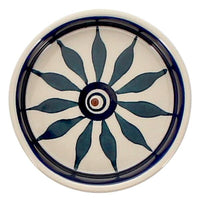 "3.75"" Round Saucer (Peacock)"