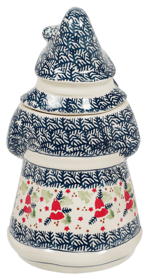 Santa Cookie Jar (Evergreen Bells)