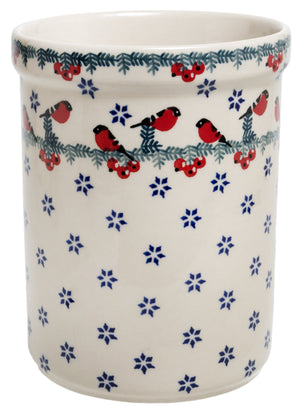 Utensil Holder/Wine Chiller (Red Bird)