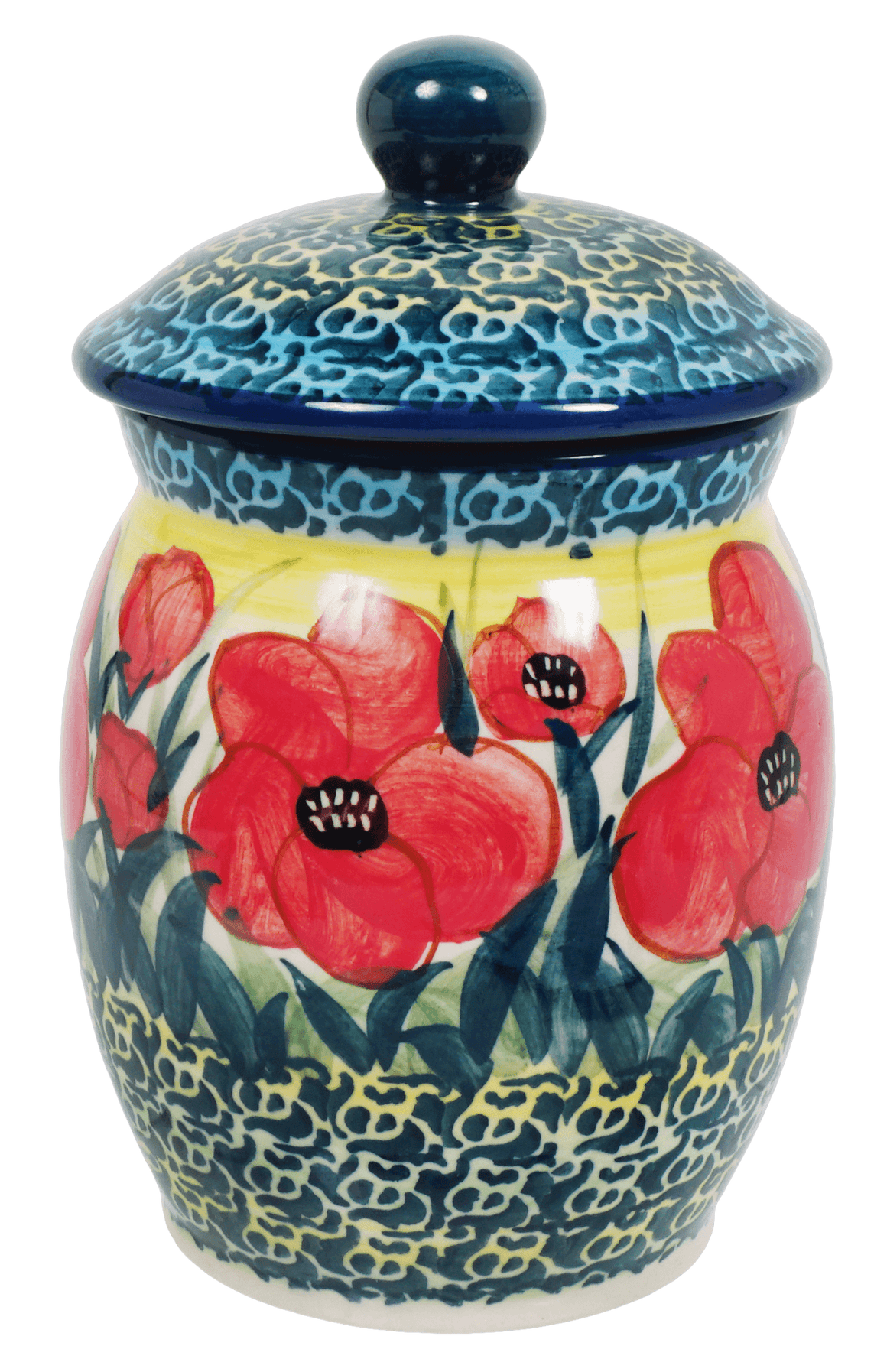 0.5 Liter Canister (Poppies in Bloom)