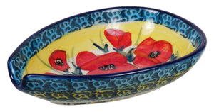 Spoon Rest (Poppies in Bloom)