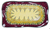 "6""x10.5"" Rectangular Wavy Baker (Sunshine Grotto)"