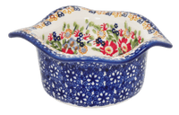Wavy Baker/Dipping Bowl (Poppy Persuasion)