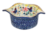 Wavy Baker/Dipping Bowl (Butterfly Bliss)