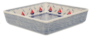 "8"" Square Baker (Smooth Seas)"