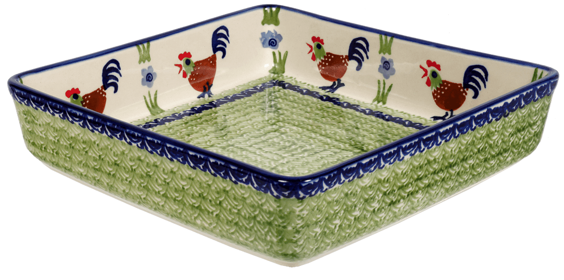 "8"" Square Baker (Chicken Dance)"