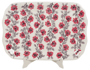 "11.5""x17"" Rectangular Platter (Evening Blossoms)"
