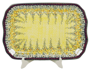 "11.5""x17"" Rectangular Platter (Sunshine Grotto)"