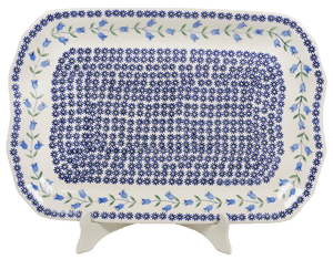"11.5""x17"" Rectangular Platter (Lily of the Valley)"