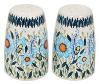 "3.75"" Salt and Pepper (Baby Blue Blossoms) 