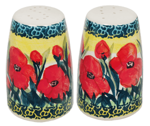 "3.75"" Salt and Pepper (Poppies in Bloom)"