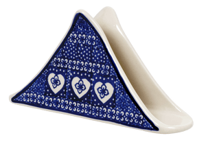 Triangle Napkin Holder (Nordic Hearts)