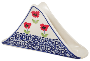 Triangle Napkin Holder (Poppy Garden)
