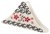 Triangle Napkin Holder (Scarlet Garden)