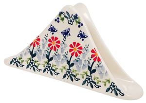 Triangle Napkin Holder (Butterfly Blossoms)