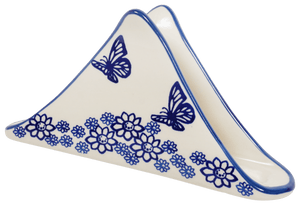 Triangle Napkin Holder (Butterfly Garden)