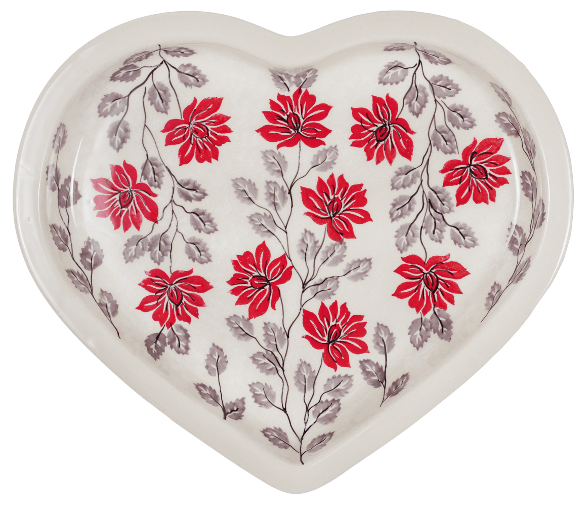 Heart Plate (Evening Blossoms)