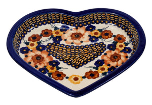 Heart Plate (Bouquet in a Basket)