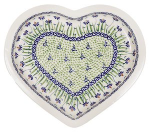 Heart Plate (Riverbank)