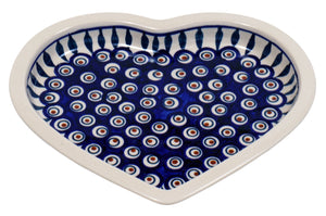 Heart Plate (Peacock)