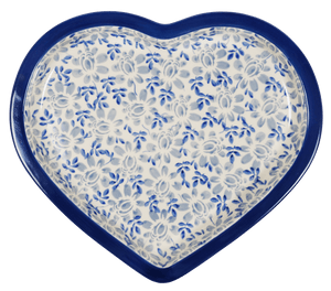 Heart Plate (English Blue)