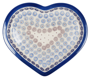 Heart Plate (Dusty Daisy Chain)