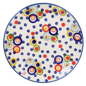 "7.25"" Dessert Plate (Bubble Machine)"