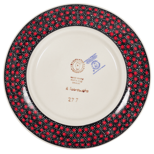 "7.25"" Dessert Plate (Scarlet Night)"