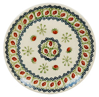 "7.25"" Dessert Plate (Chocolate Mint) 