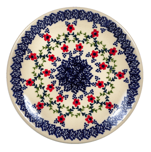 "7.25"" Dessert Plate (Trellis in Bloom)"