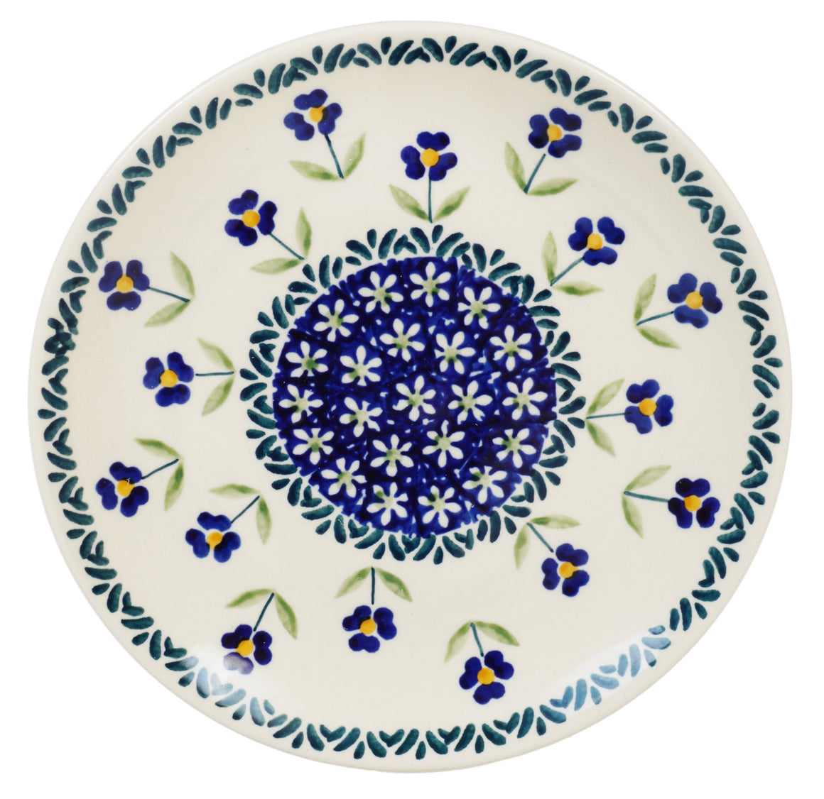 "7.25"" Dessert Plate (Forget Me Not)"
