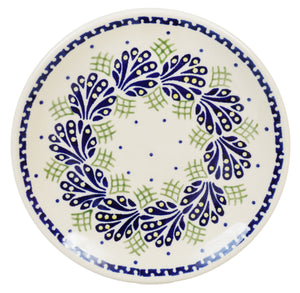 "7.25"" Dessert Plate (Splash of Blue)"