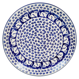 "7.25"" Dessert Plate (Kitty Cat Path)"