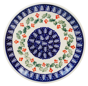 "7.25"" Dessert Plate (Holiday Cheer)"