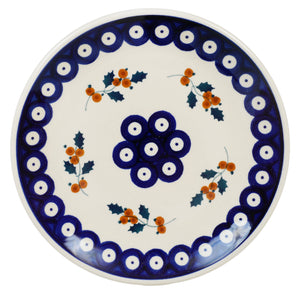 "7.25"" Dessert Plate (Sprig of Holly)"