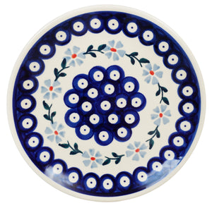 "7.25"" Dessert Plate (Periwinkle Chain)"