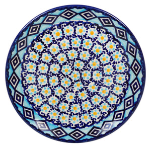 "7.25"" Dessert Plate (Blue Diamond)"