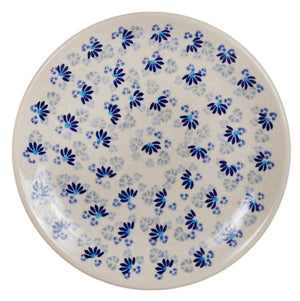 "7.25"" Dessert Plate (Dusty Blue Daisies)"