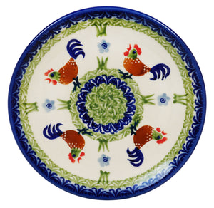 "7.25"" Dessert Plate (Chicken Dance)"