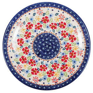 "10"" Dinner Plate (Brilliant Bouquet)"