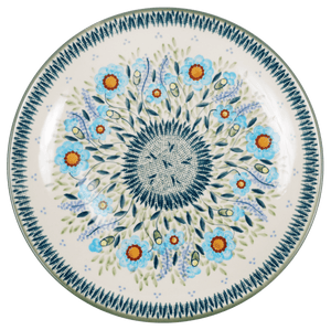 "10"" Dinner Plate (Baby Blue Blossoms)"