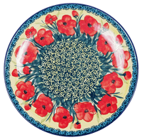 "10"" Dinner Plate (Poppies in Bloom)"