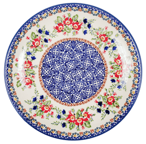 "10"" Dinner Plate (Poppy Passion)"